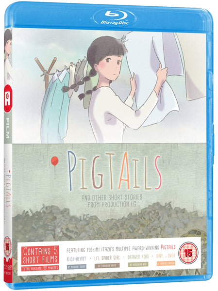 Pigtails and Other Short Films - Blu-ray/DVD