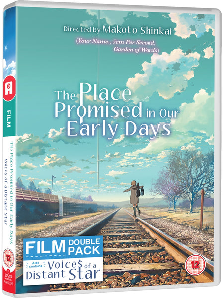 Place Promised In Our Early Days/Voices Of A Distant Star - DVD