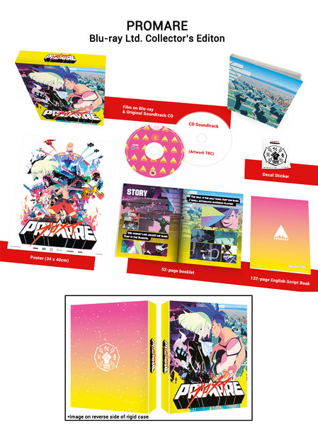 Promare - Blu-ray Collector's Edition
