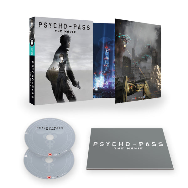 Psycho-Pass The Movie - Blu-ray/DVD Ltd Collector's Edition