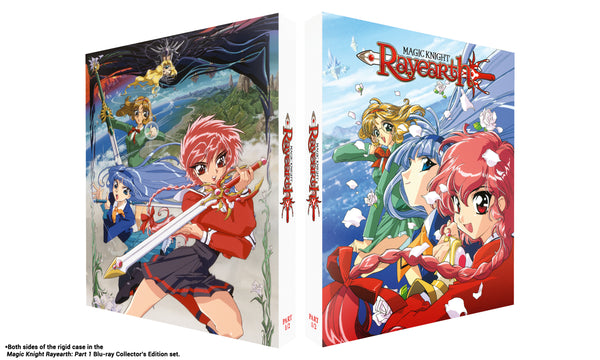 Magic Knight Rayearth: Part 1 - Blu-ray Collector's Edition