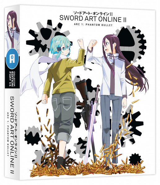 Sword Art Online II: Part 1 of 4 Ltd Collector's Edition Blu-ray/DVD Combi with Art Box