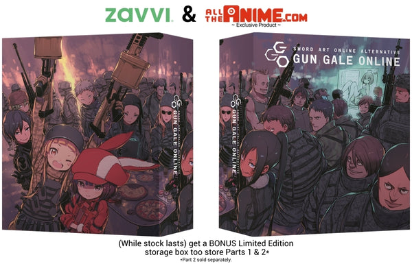 Sword Art Online Alternative: Gun Gale Online Part 1 - Blu-ray Collector's Edition w/ Exclusive Art Box