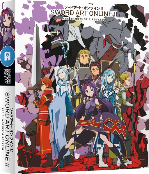 Sword Art Online II: Part 4 - Blu-ray/DVD Ltd Collector's Ed
