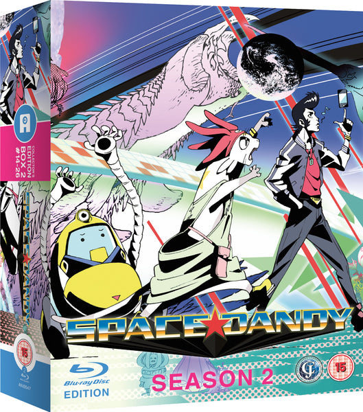 Space Dandy Season 2 - Collector's Edition Blu-ray
