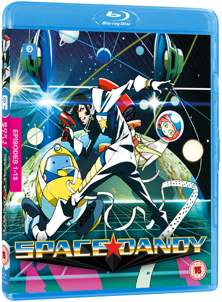 Space Dandy Season 1 - Blu-Ray (Standard Ed.)