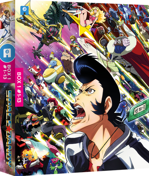 Space Dandy Season 1 - DVD Collector's Edition