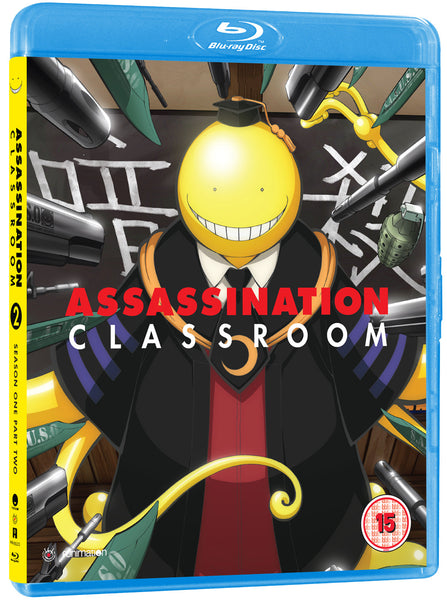 Assassination Classroom Season 1 Part 2 - Blu-ray