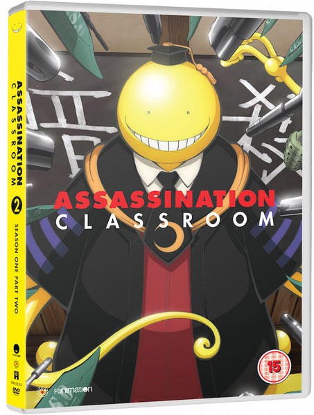 Assassination Classroom S1 Part 2 - DVD