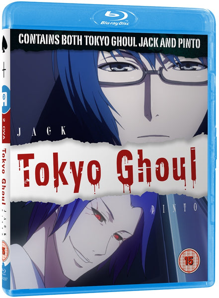 "Tokyo Ghoul ""Jack"" & ""Pinto"" - Blu-ray"