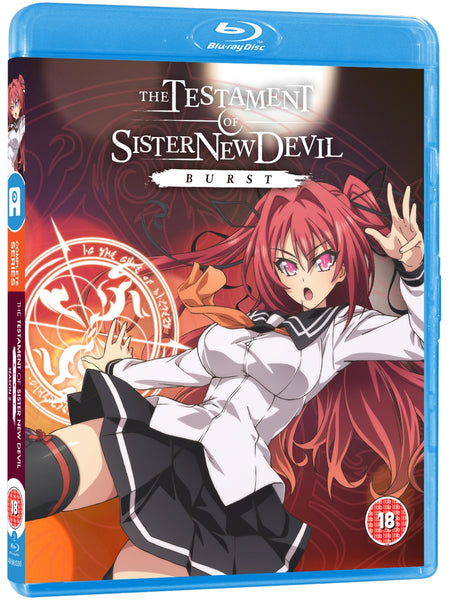 Testament of Sister New Devil BURST (Season 2) - Blu-ray