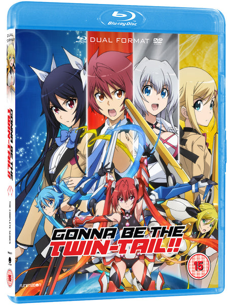 Gonna Be The Twin-Tail!! - Blu-ray/DVD combi