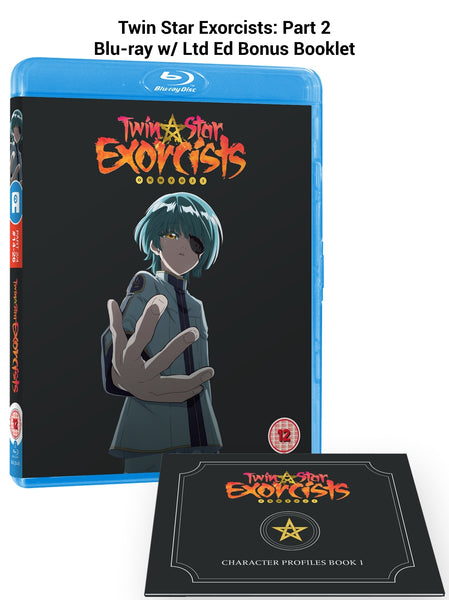 Twin Star Exorcists: Part 2 - Blu-ray w/ Ltd Ed. Bonus Booklet