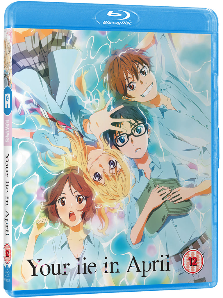Your Lie In April Part 1 Blu Ray Alltheanime