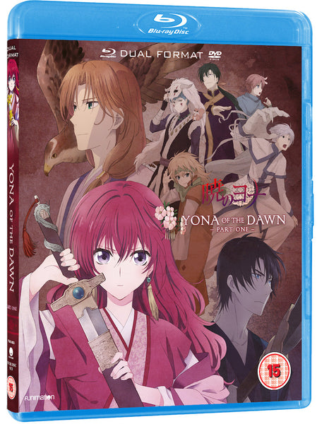 Yona of the Dawn: Part 1 - Blu-ray/DVD combi