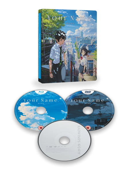 Your Name - Blu-ray/DVD Steelbook Collector's Edition