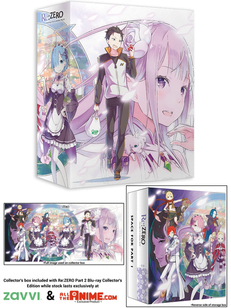 Re:ZERO: Part 2 Blu-ray Collector's Edition w/ Exclusive Art Box