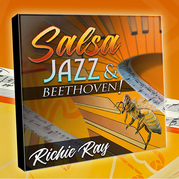 AUTOGRAPHED Richie Ray CD - SALSA JAZZ & BEETHOVEN ***NEW***