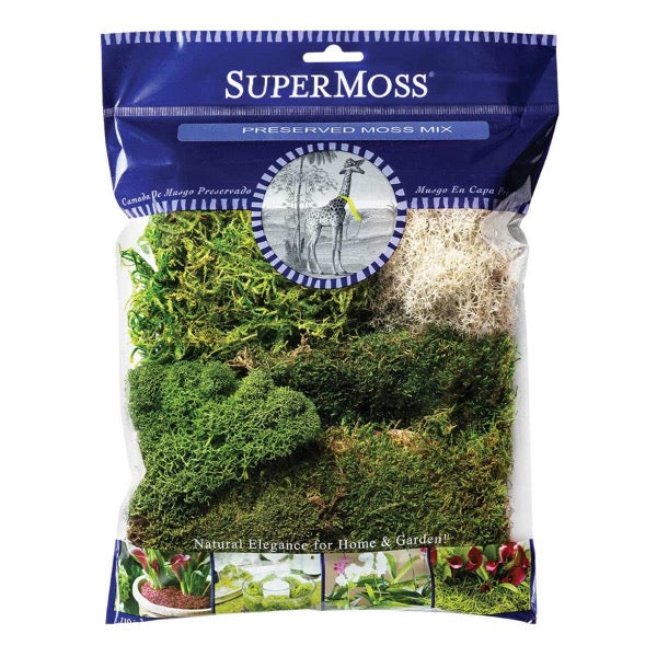 Super Moss <br> Preserved Moss Mix