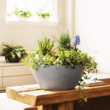 Load image into Gallery viewer, Lechuza CUBETO Stone 40<br> All-in-One<br> Smart-Watering Planter