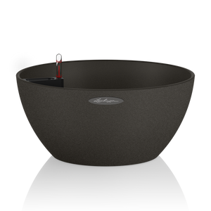 Lechuza CUBETO Stone 40<br> All-in-One<br> Smart-Watering Planter