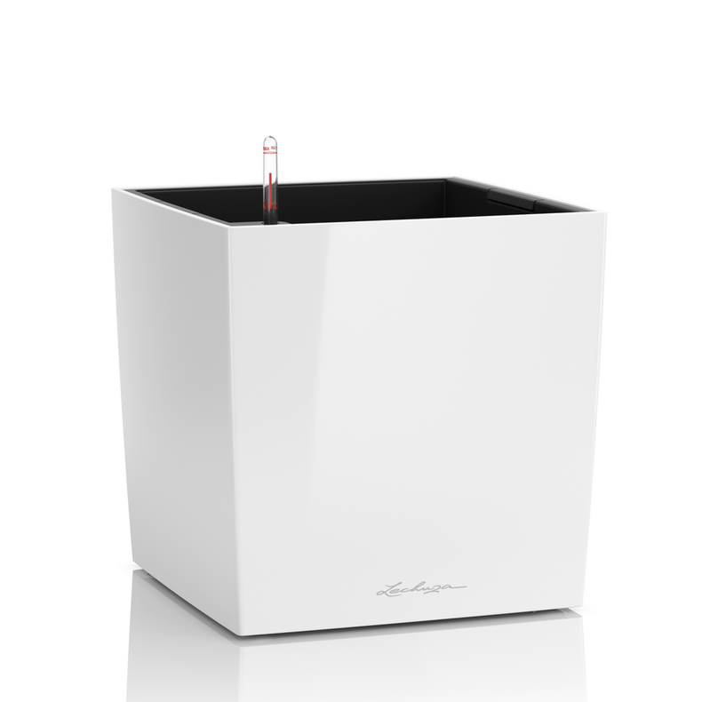 Lechuza CUBE Premium 30 <br> All-In-One <br> Smart-Watering Planter