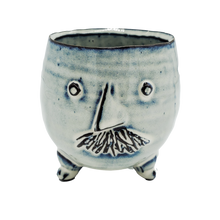 "Load image into Gallery viewer, Mr & Mrs Clay Pot <br>4.75"" x 4.5"""