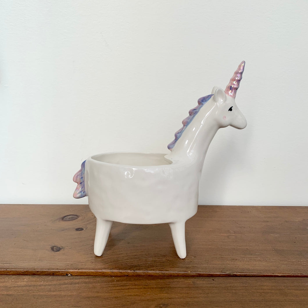 Lolly Unicorn Planter