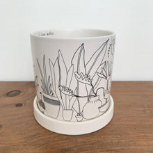 "Load image into Gallery viewer, Plant Lady Pot 4.75""x 4.75"""