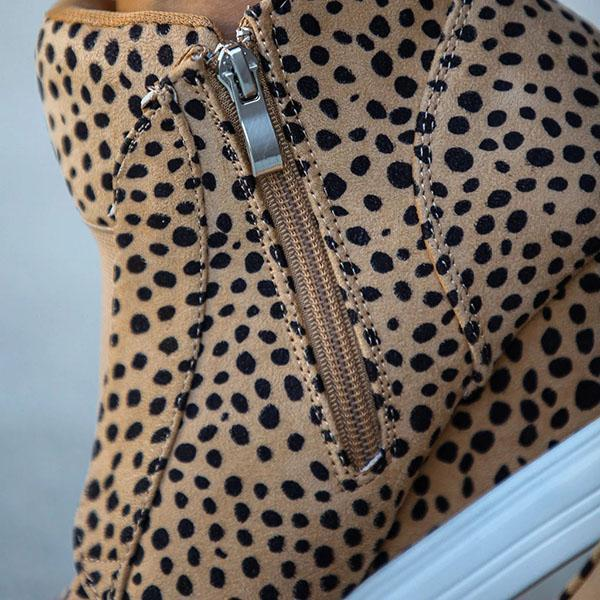 Bestyleme Extra Mile Wedge Sneakers
