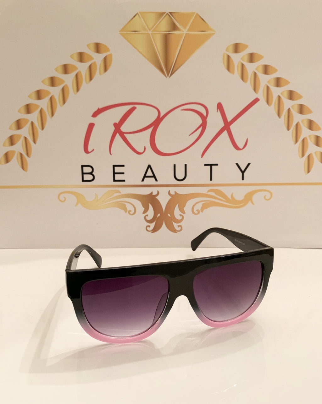 Pink Panther Pink & Black Sunglasses
