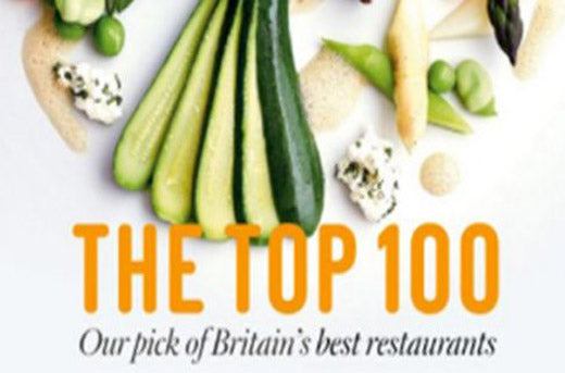 The Sunday Times Top 100 Best UK Restaurants