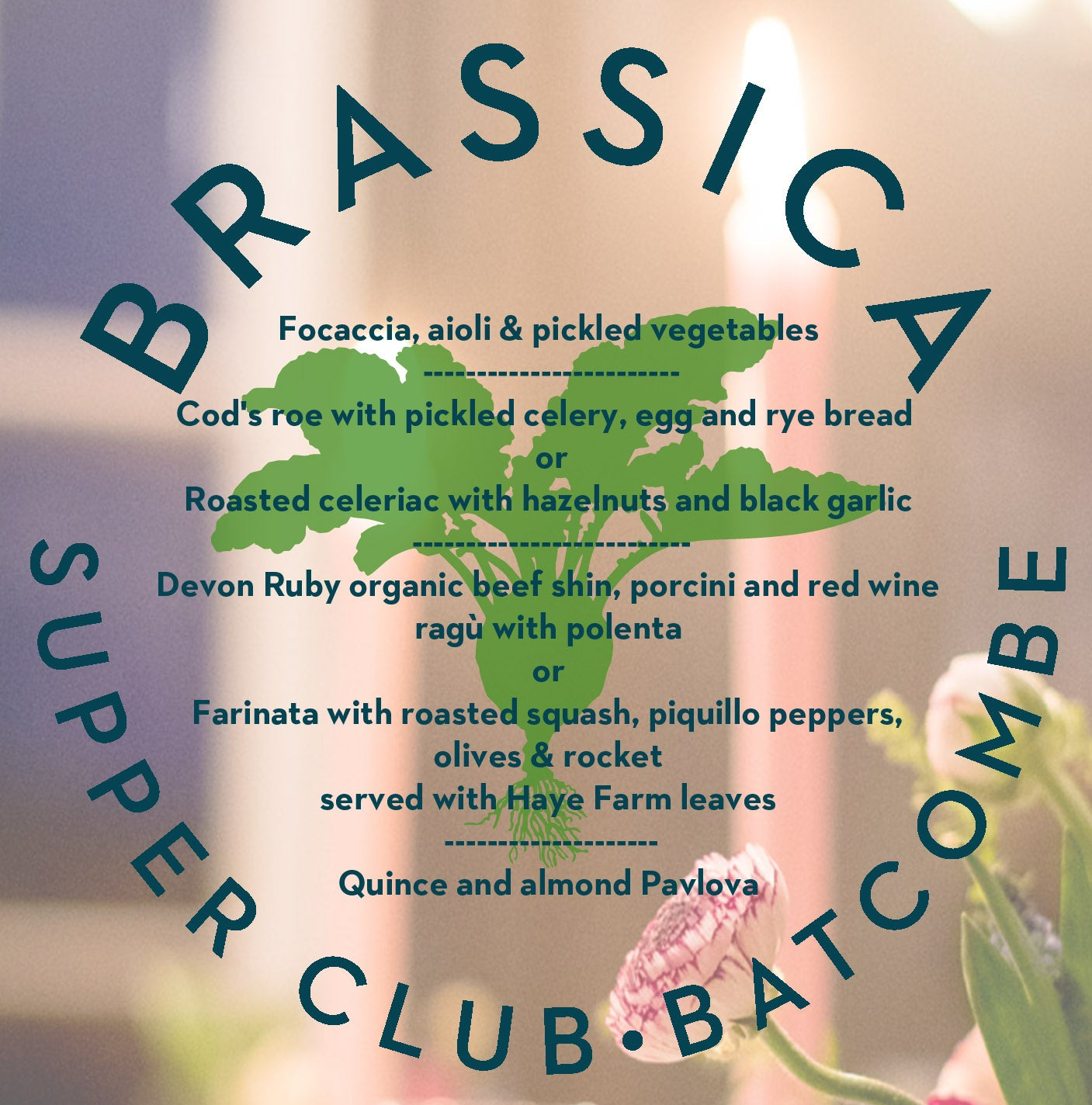 Brassica Dining Events