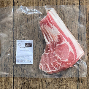 Haye Farm Organic Bacon
