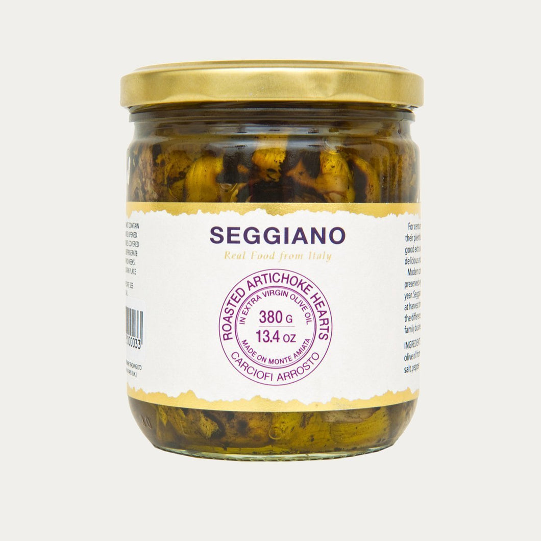 Organic Roasted Artichoke Hearts-Ambient Food-Seggiano-Brassica Mercantile