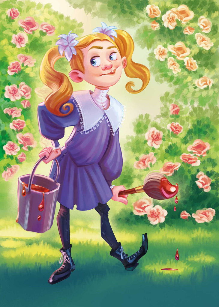 Alice in Wonderland - Paint the Roses