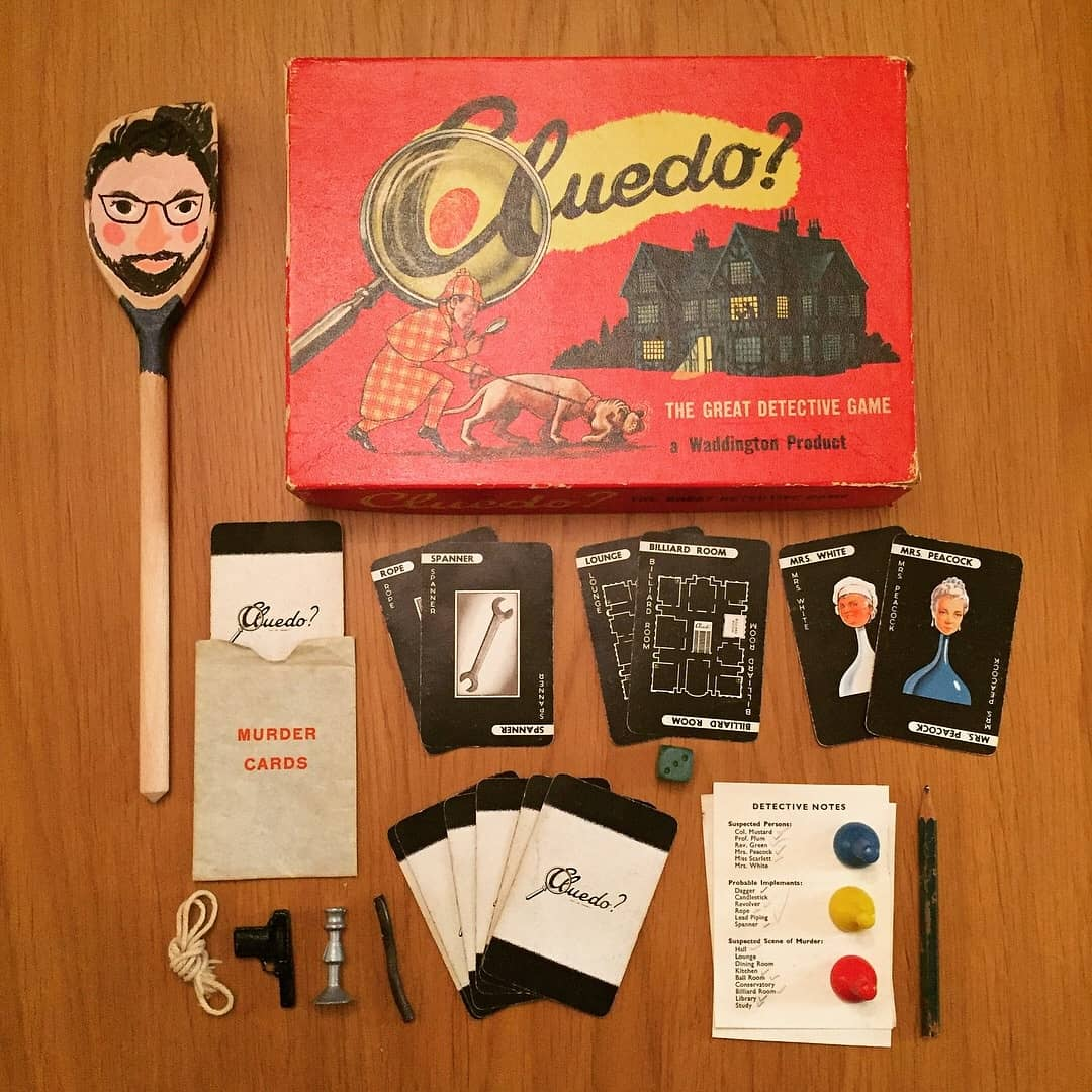 Cluedo Clue Board Game Old Edition