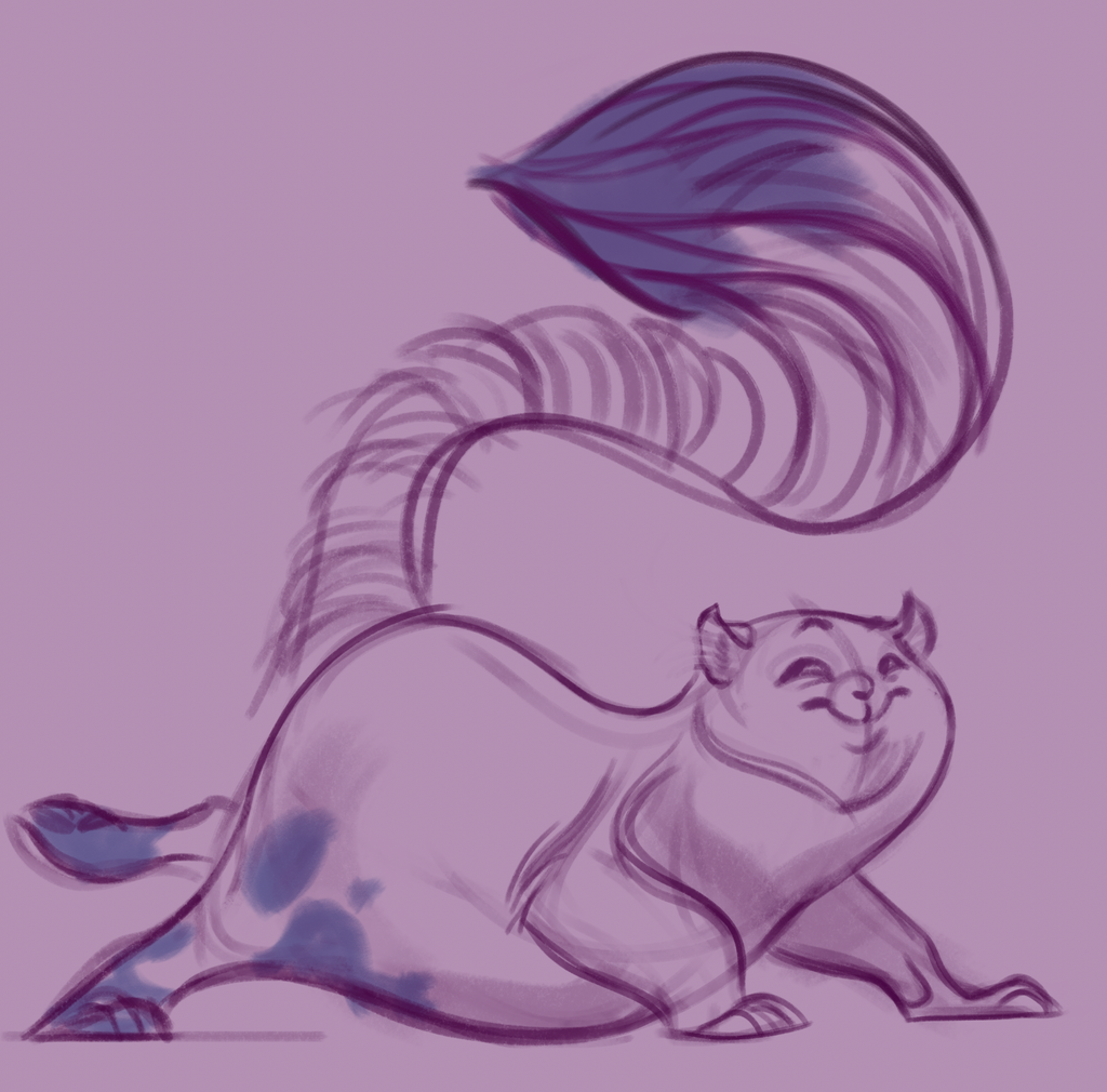 Cheshire Cat Sketch - Paint the Roses