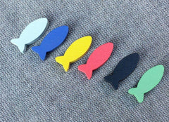 Oceans Accessory:  Wooden Fish