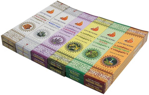 Gift Set of 12 Ayurvedic Masala Incense Packs - DharmaObjects