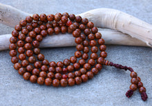 Load image into Gallery viewer, Tibetan MEDITATION 108 Beads Red Lotus Seed MALA For Compassion
