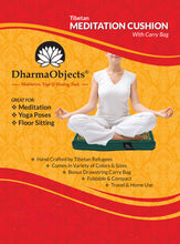 Load image into Gallery viewer, Traditional Tibetan Yoga Meditation Accessory Cotton Mat Cushion