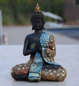 Namaskara Buddha Statue Buddha Statue for Home Meditation Gift 8 Inches Tall