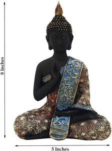 DharmaObjects Buddha Statue Vitarka Mudra Buddha Statue for Home Meditation Gift 8 Inches Tall