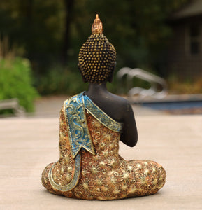 Buddha Statue for Home Altar Shrine Meditation Room 8 Inches Tall