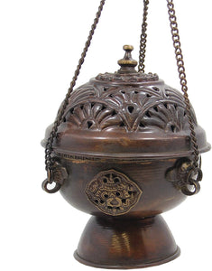 Tibetan Hanging Incense Burner - DharmaObjects