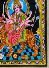 "Load image into Gallery viewer, Goddess Durga Tapestry 30"" X 43"""