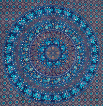 "Load image into Gallery viewer, Animal Mandala Tapestry Wall Hanging Decor 80"" X 50"""