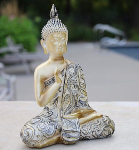 Blessing Buddha Statue Buddha Statue for Home Meditation Gift 8 Inches Tall