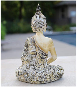 Meditation Buddha Statue for Home 8 Inches Tall